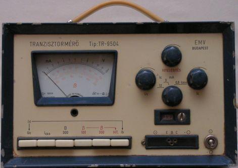 TRANZISZTORMÉRŐ Tip: TR-9504