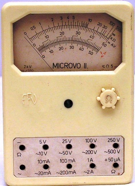 MICROVO II   gy.év:1968