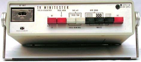 TV MINITESTER