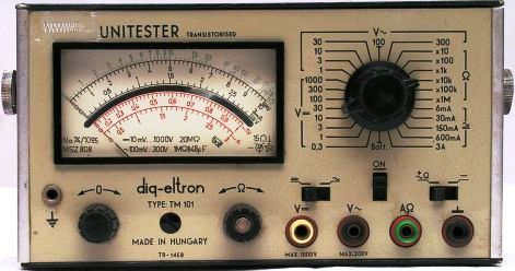 UNITESTER TM101 TR1458   gy.év:1973