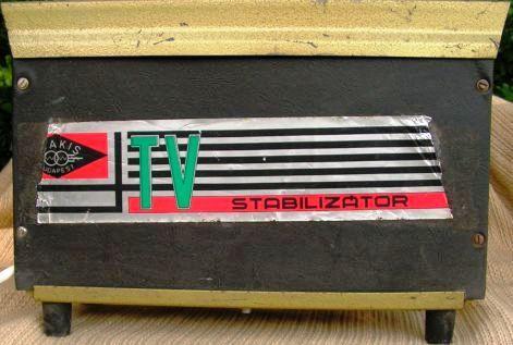 TV STABILIZÁTOR FSN 200 TRAKIS   gy. év:1974