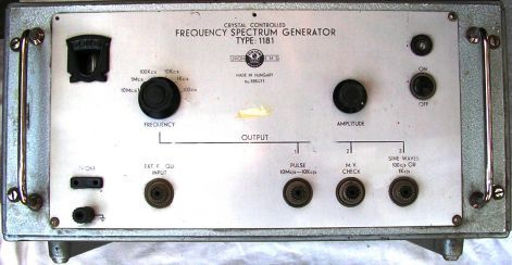 FREQUENCI SPECTRUM GENERATOR Type: 1181