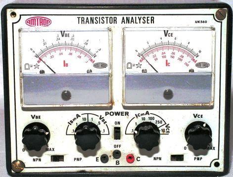 TRANSISTOR ANALYSER UK 560
