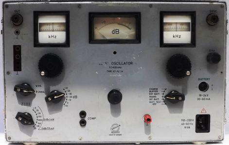 ET-70T/A oszcillátor