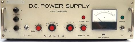 D.C. POWER SUPPLY TYPE: TR-9255/A