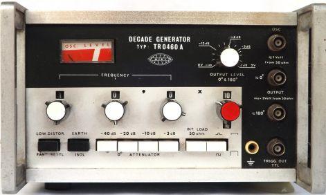 DECADE GENERATOR TR 0460