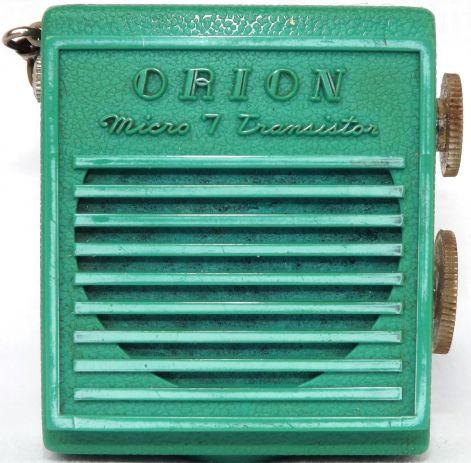 ORION MICRO 7 TRANsISTOR